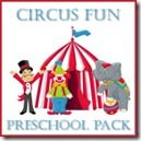 I am completely in LOVE with the Circus Fun Preschool Pack ~ it's seriously one of my favorites to date! The colors are so much fun and I had MUCH fun creating a few new 'pieces' to go along with the pack.  Here's a peek inside the Circ