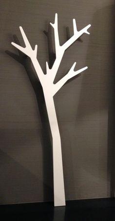 APPENDIABITI A PARETE APPLE TREE DESIGN COAT HANGER ALBERO attaccapanni a muro