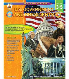 #CDWishList U.S. Government and Presidents Resource Book - Carson Dellosa Publishing Education Supplies