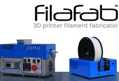 3D printing can cause a lot a wasted material and its not very easy to recycle or use again, but Edward Clifford who is based in the UK thinks he might have a solution called FilaFab. FilaFab has been designed to provide those that own a 3D printer with a fairly easy way to create filament from plastic granules or even recycle already 3D printed objects and recycle them into new filament. | Geeky Gadgets Maybe something for 3D Printer Chat?