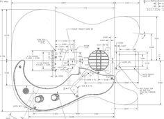 Image result for fender telecaster pickguard dimensions