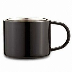 Coffee Mug in Black, Customized Designs are Accepted