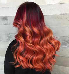 "7,369 Likes, 44 Comments - Pulp Riot Hair Color (@pulpriothair) on Instagram: ""Autumn... @vanessashairaddiction from @butterflyloftsalon is the artist... Pulp Riot is the paint."""