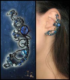 Ear cuff Night forest by ~JSjewelry on deviantART