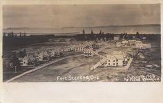 Penny Postcard, Fort Stevens, Oregon, 1906.