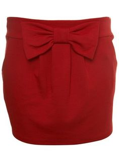 red bow skirt love-bows