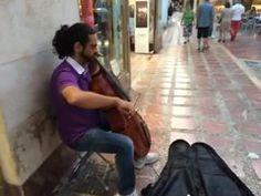 Cellist, Plaza Africa Casco Antiguo, Marbella Marbella Old Town, Africa, Beautiful