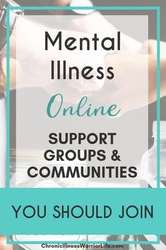 Online Support Groups for People with Mental Illness You Should Join - Chronic Illness Warrior Life Mental Health Treatment, Mental Health Recovery, Mental Health Support, Mental Health Quotes, Mental Health Awareness, What Causes Depression, Depression Treatment, Depression Recovery, Postpartum Depression