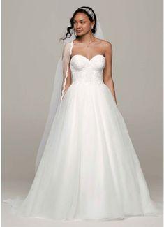 Ball Gown with Lace Corset Bodice AI10012320 Bridal Dresses 3e5ae247e1b2