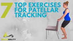 Suffering from patellar tracking disorder, patellar subluxation, or patellar dislocation? These patellar tracking exercises help prevent kneecap instability. Knee Physical Therapy Exercises, Knee Strengthening Exercises, Stretches, Knee Dislocation, How To Strengthen Knees, Hip Problems, Tight Hip Flexors, Psoas Muscle, Muscle Fitness