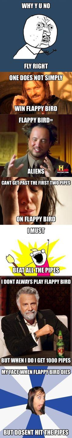 Flappy bird memes