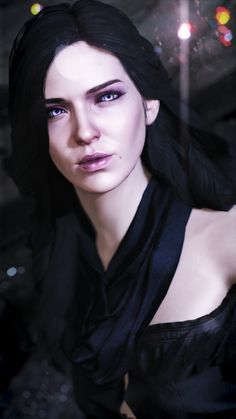 Witcher 3 Yennefer, Witcher Art, Yennefer Of Vengerberg, The Witcher, Alfie Solomons, Oil Painting Gallery, Fantasy Characters, Overwatch, Cosplay Costumes