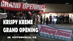 Grand Opening of Krispy Kreme Victorville