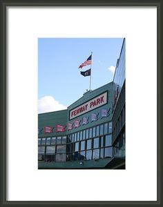 Fenway Park Centennial Framed Print By Loud Waterfall Photography Chelsea Sullens (Prices start at $22)