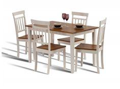 Hudson, Ivory Dining Set, Dining Set, Oak Dining Set, Dining Set, Oak Dining  Table, Compact Dining Set, Compact Dining Table, Oak Dining Table,painted  ...