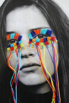 El arte urbano textil con aire mexicano de Victoria Villasana The urban textile art with Mexican air of Victoria Villasana 3 Art Du Collage, Collage Photo, Collage Design, Collage Ideas, Kids Collage, Collage Drawing, Drawing Tips, Wall Collage, Art Ideas
