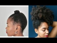 (27) THICKER Hair IS THE EVERYTHING - Fine Natural Hair - YouTube