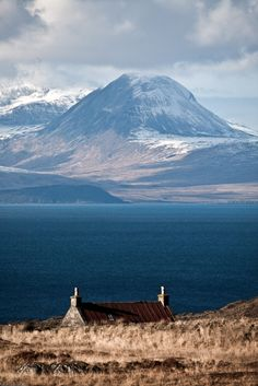 Sound of Jura, February, Kilberry, Scotland