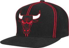 Mitchell And Ness Chicago Bulls Nba Snapback Cap Black 0 Mitchell & Ness. $25.95