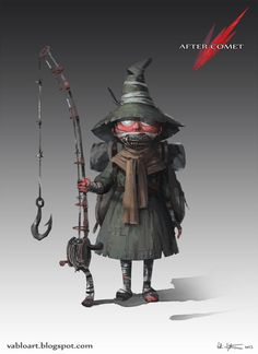 After Comet - Snufkin by ~Vablo on deviantART