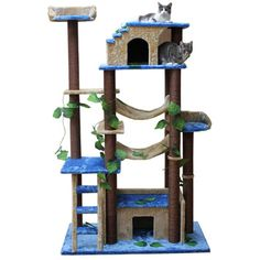 """You'll love the 78"""" Amazon Cat Tree at Wayfair - Great Deals on all Pets  products with Free Shipping on most stuff, even the big stuff."""