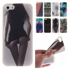 Fashion Painted Rubber Soft Silicone TPU Case For iPhone 5s 5 s iPhone5 Cases Phone Protective Back Cover Capa Funda Coque #>=#>=#>=#>=#> Click on the pin to check out discount price, color, size, shipping, etc. Save and like it!