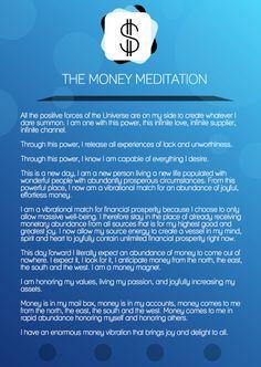 The Money Meditation (for manifesting financial abundance)  money success business meditation wealth finance affirmations entrepreneur meditating entrepreneur tips tips for entrepreneur daily affirmations positive affirmations