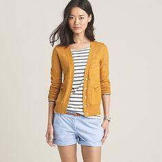 Need a mustardy cardigan