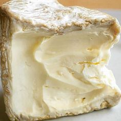 Mmmbreakfast: Délice de Bourgogne triple-crème. #creamy #buttery #delicious #cheese