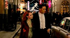 GIF: Tommy as Ronald Kray / Reginald Kray & Emily Browning - Legend (2015) / TH0083