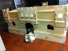 rabbit castle | Bunny castles