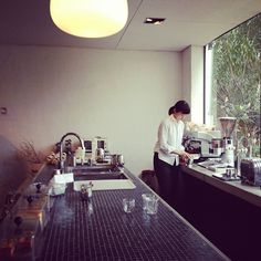 Cafe and Gallery 'VADE MECVM' in Osaka, Japan. #cafe #interior