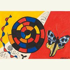 Sotheby's | Auctions - S/2 Calder Gouaches,contemporary art | Sotheby's