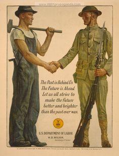 Examples of Propaganda from WW1 | American WW1 Propaganda Posters Page 28