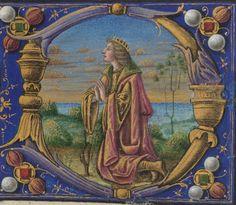 Catholic Church. Officium Beate Marie Virginis secundum consuetudinem Romane ecclesie : manuscript, [ca. 1485-ca. 1494] MS Typ 213 Houghton Library, Harvard University