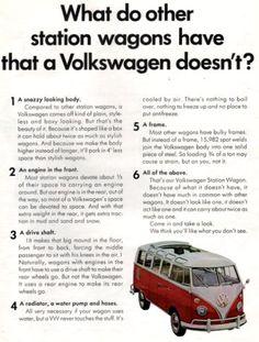 1966 VW Volkswagen Station Wagon Bus van print ad Lots by Vividiom, $9.00