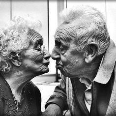 Still kissing.