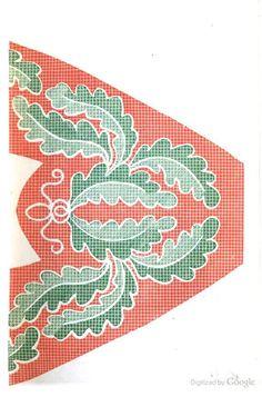 1857 Godey's slipper pattern.