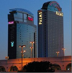 Palms Fantasy Tower, multiple trips - at least  December 2011, Memorial day 2013