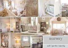 Nursery interior design based on soft, gentle and calming hues. Nursery Themes, Nursery Room, Girl Nursery, Nursery Decor, Nursery Ideas, Nursery Inspiration, Interior Inspiration, Baby Boy Rooms, Boy Bedrooms