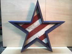Reclaimed Wood Star by DanteDesignsCrafts on Etsy