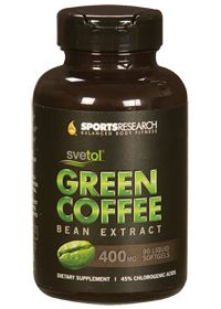 Svetol Green Coffee Bean Extract 400 Mg by Sports Research Corporation - Buy Svetol Green Coffee Bean Extract 400 Mg 90 Softgels at the vitamin shoppe