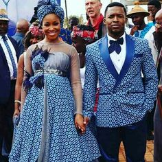 African Wedding Attire, African Attire, African Wear, African Women, African Weddings, South African Traditional Dresses, Traditional Wedding Dresses, Traditional Outfits, African Print Fashion