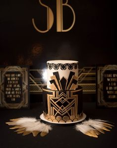 Great Gatsby Cake fr