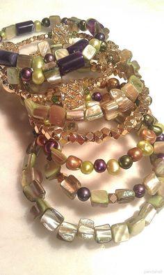 Jewelry Show—Handmade Elastic Bracelet with Various Jewelry Beads | PandaHall Beads Jewelry Blog