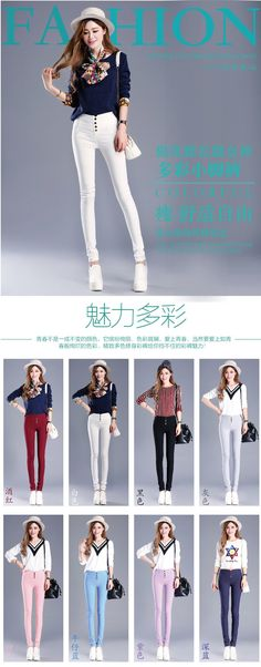 Fashion 2015 New Summer Elegant Women's OL Work Wear Slim Thin Pencil Pants Trousers For Women Plus Size S-XXXL Leggings - http://buy-guide.info/products/fashion-2015-new-summer-elegant-womens-ol-work-wear-slim-thin-pencil-pants-trousers-for-women-plus-size-s-xxxl-leggings/