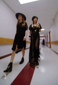 American Horror Story Season 3 episode 9. Love the outfits