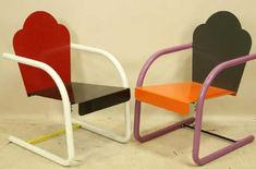 peter shire chairs