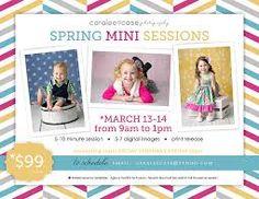 Image result for spring mini session