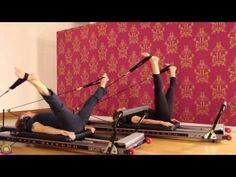 Pilates Reformer/Allegro/ Partner Workout - YouTube